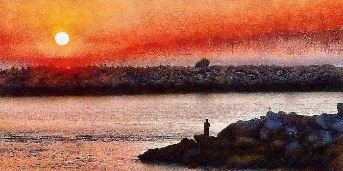 Sunset Dinner by Cary Shapiro
