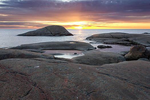 Sunset Enet Halmstad by Kenneth Forland