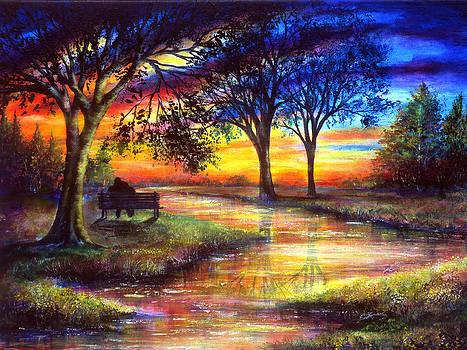 Sunset Feeling by Ann Marie Bone