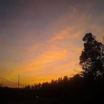 #sunset #filter #sun #sunlight #sky by Laura Vaillancourt
