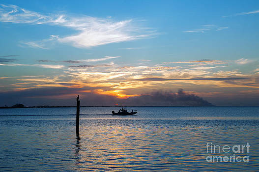 Sunset Fishing by Tammy Smith