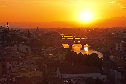 Susan Rovira - Sunset Florence
