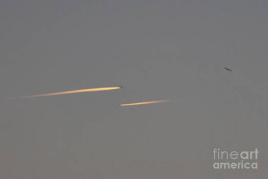 Sunset Flyby by Erhan OZBIYIK