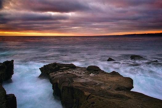 Sunset from La Jolla Cove by Joe Urbz