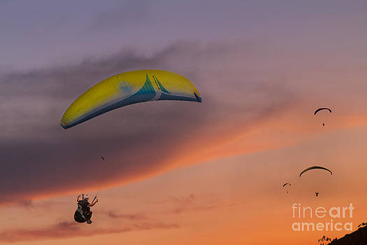 Sunset Gliders by Soren Egeberg