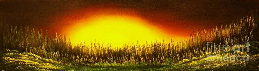 Sunset Groove-ORIGINAL SOLD-Buy Giclee Print Nr 27 of Limited Edition of 40 prints  by Eddie Michael Beck