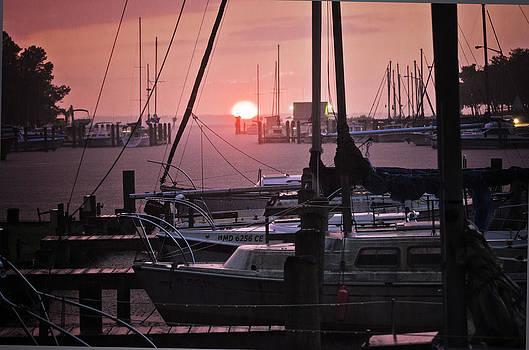 Sunset Harbor by Kelly Reber