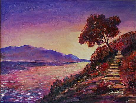 Sunset by Helene Khoury Nassif
