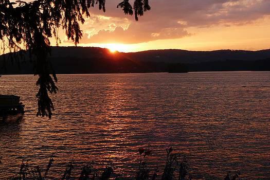 Sunset I by Jennifer Wartsky