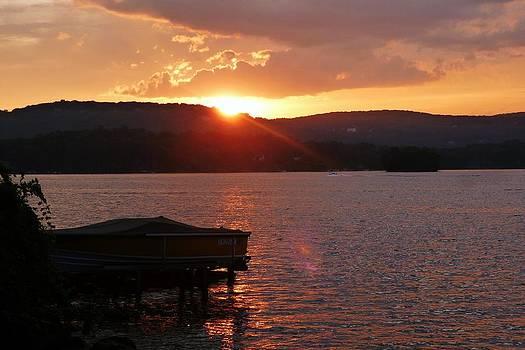 Sunset II by Jennifer Wartsky