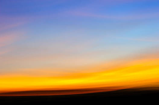 Sunset in abstract No.2 by Chris Modlin