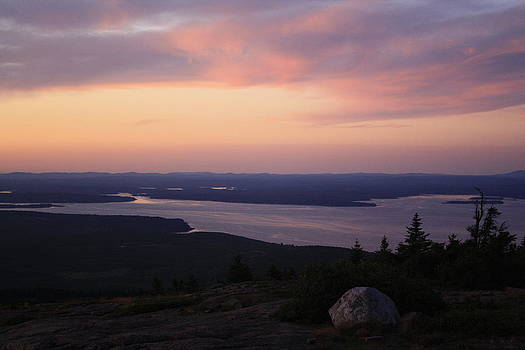 Sunset in Acadia II by Terry Decker