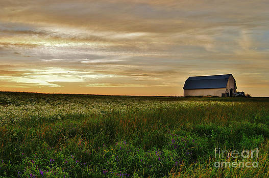 Sunset in Aroostook County by Christopher Mace
