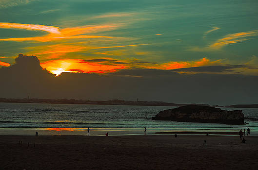 Alexandre Martins - Sunset in Baleal
