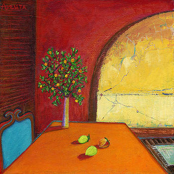 Romantic Sunset by Adelita Pandini