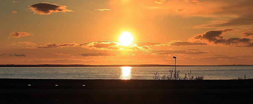 Sunset in Iceland  by Halldor  Sigurdsson