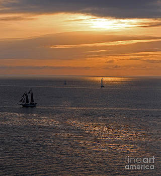Sunset in Key West by Kathy DesJardins