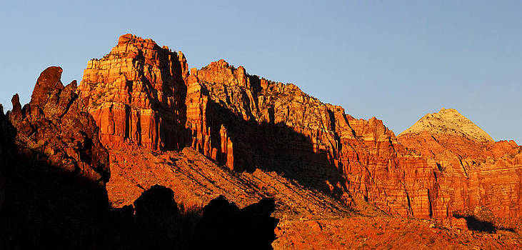 Sunset in Kolob Terrace 1 by Qing Yang