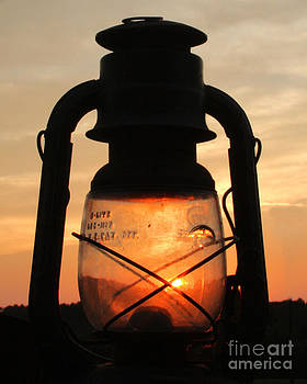 Sunset in Lantern by Pam Carter