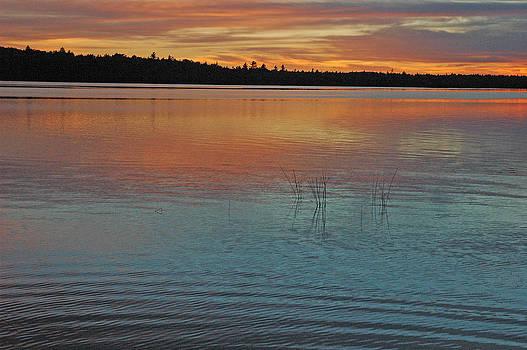 Robert Anschutz - Sunset in Maine