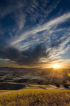 Sunset in Motta by Marco  Calandra