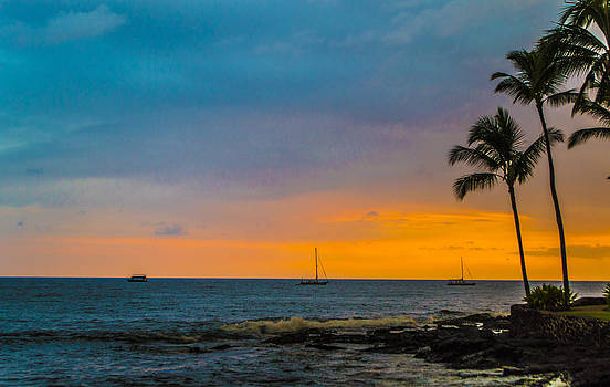 Sunset in Paradise by Brandon McClintock