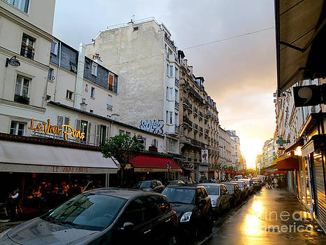 Sunset in Paris by Tanya  Searcy