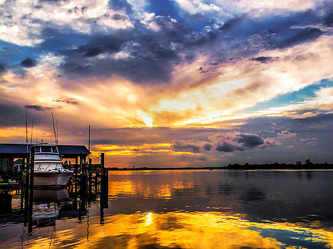 Terry Shoemaker - Sunset in Pawleys Island
