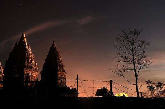 Sunset In Prambanan by Achmad Bachtiar