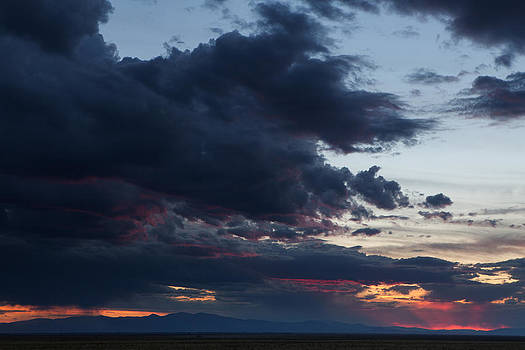 Sunset in San Luis Valley by D Scott Clark