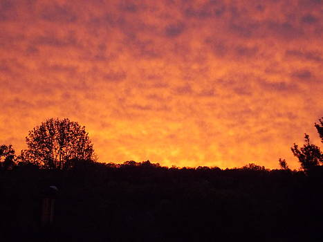 Sunset in Spring City TN by Regina McLeroy