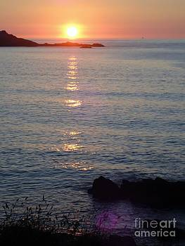 Sunset in St. Ives Collection - 3 by Ava Larsen