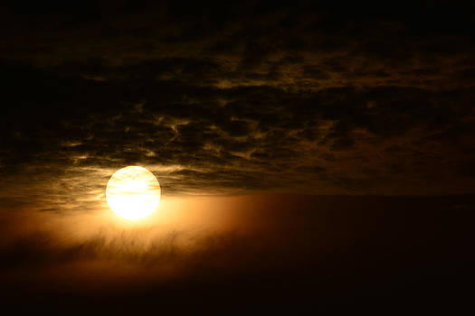 Sunset in the cloud by Indra Kurnia Cahya