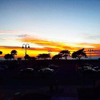 Sunset In #venturaharbor #socal #beach by Tristan Thames
