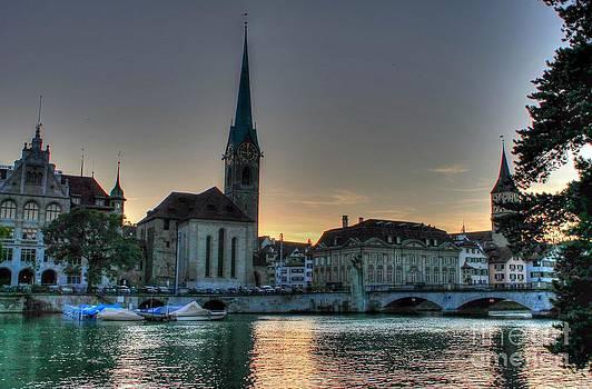 Ines Bolasini - Sunset in Zurich