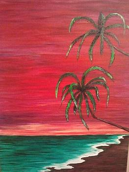 Sunset Island by Diana Garcia