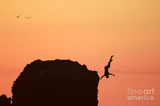 Sunset Jump  by Stav Stavit Zagron
