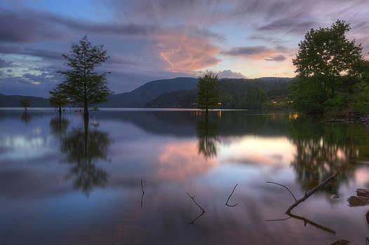 Debra and Dave Vanderlaan - Sunset Lake Reflections
