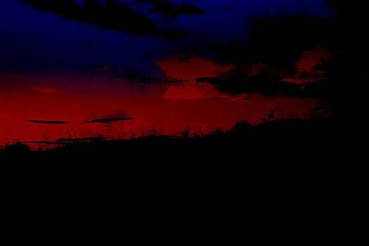 Sunset magic by John Stuart Webbstock