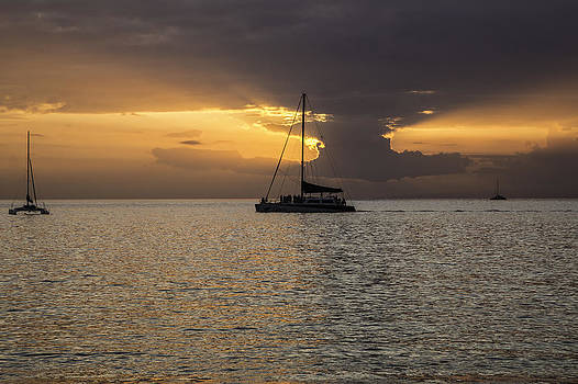 Sunset Maui by Luna Curran