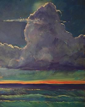 Sunset Moonglow by Jim Noel