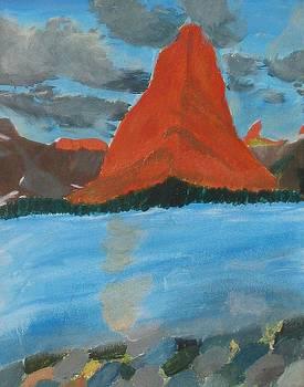 Sunset Mountain by Ashley Van Artsdalen