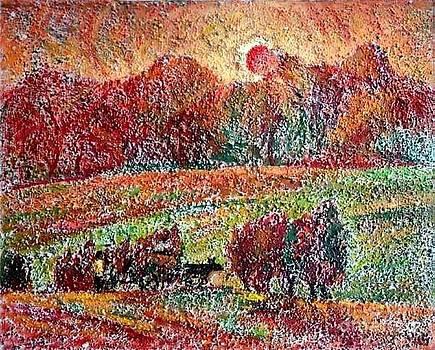 Sunset by Najmaddin Huseynov