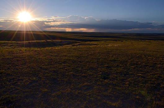 Sunset Near Limon by Clarice  Lakota