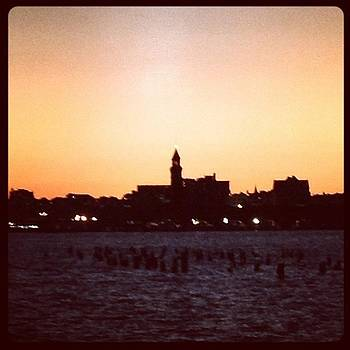 #sunset #new_jersey #hoboken by Jan Pan