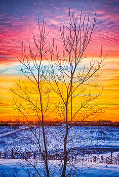 Sunset North of Chicago 002 by Michael  Bennett