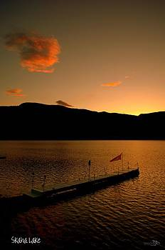 Guy Hoffman - Sunset - Okanagan Valley 3/21/2014