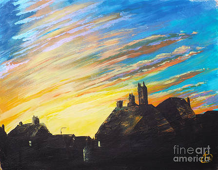 Sunset on 2014 by Jeanette Hibbert