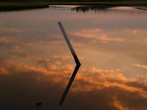 Sunset on Bear Creek by  Matthew Kay