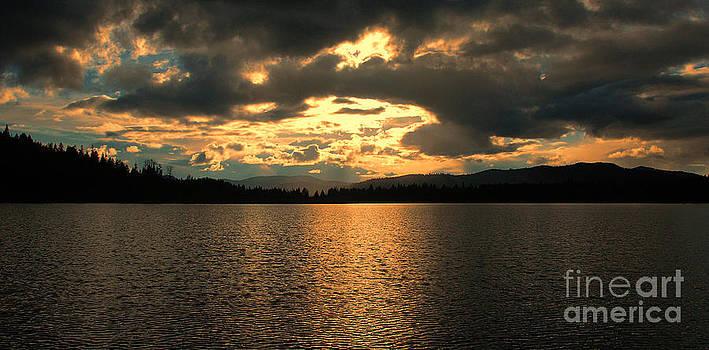 Sunset on Blue Lake by Sam Rosen